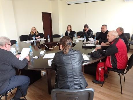 Кметът на Община Ценово проведе консултации за определяне състава на СИК