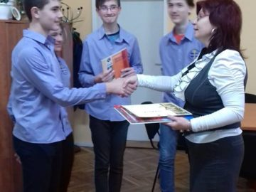 Седмокласник от СУПНЕ - Русе трети на националната олимпиада по география и икономика