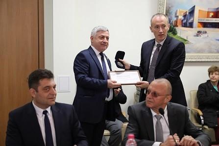 Министърът на образованието проведе среща с академичното ръководство на Русенския университет