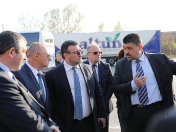 Министърът на вътрешните работи Младен Маринов: В правителствената програма пътната безопасност е основен приоритет