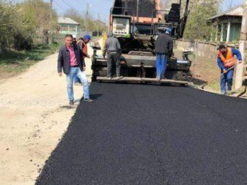 Първите метри асфалт от 30 години бяха положени в село Дая