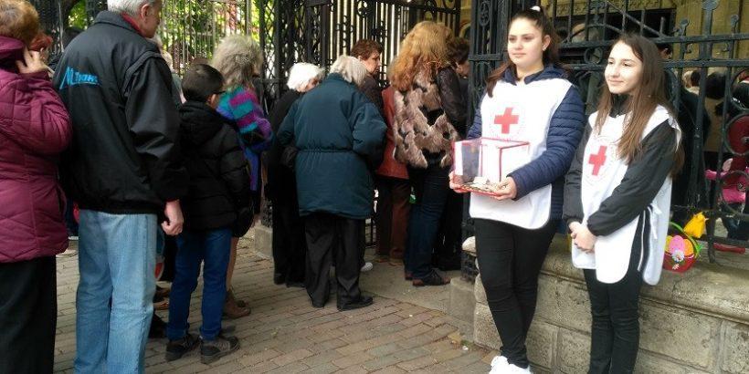 Доброволците на БМЧК – Русе организираха своята традиционна Великденска фондонабирателна кампания