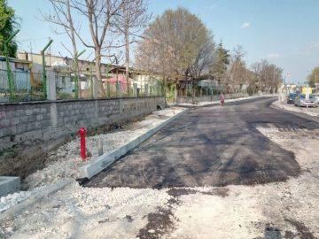 """Полагат асфалт в първия етап от разширението на бул. """"Потсдам"""""""
