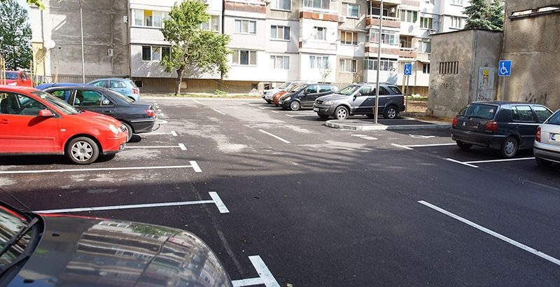 паркинг блок скъта ремонтиран