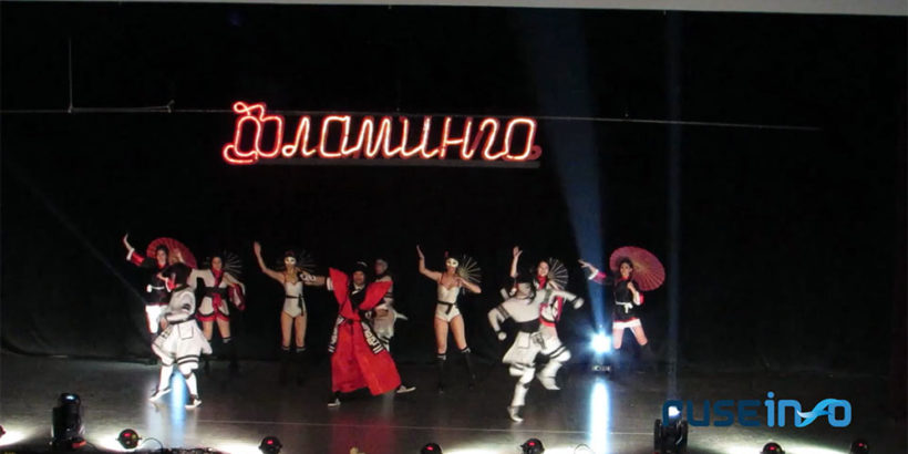 """Традиционният годишен концерт на танцова формация """"Фламинго"""" тази година започна със светлинно шоу - танц + ВИДЕО"""