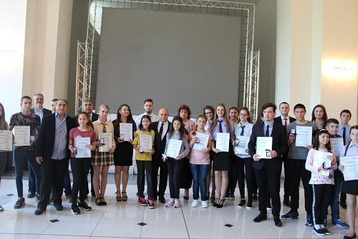 Кметът Пламен Стоилов награди отличниците на Русе