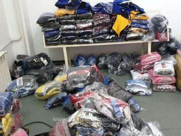 Контрабандни вещи за 100 000 лева са открити на Дунав мост 1 днес
