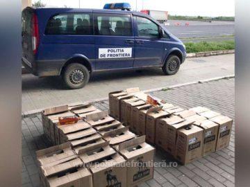 Българин е задържан при опит да пренесе нелегално 276 бутилки алкохол през Дунав мост 1
