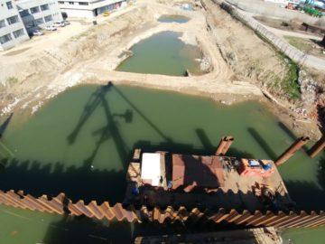Продължава изграждането на новото тримодално пристанище в Гюргево