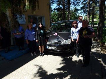 В Дневния център в Ценово вече разполагат с лек автомобил