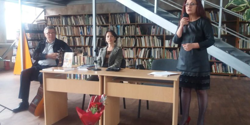 Вълнуваща Вечер на българската и украинската любовна поезия се проведе в библиотеката