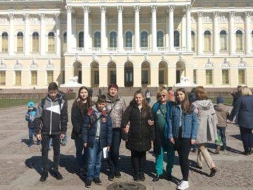 Ученици от СУЕЕ посетиха Санкт Петербург