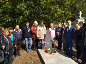 Венци и цветя от руското консулство в региона по повод 9 май