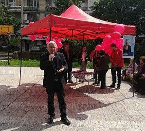 """Предизборна хроника: Народни представители от БСП се срещнаха с избиратели от район """"Приста"""" в Русе"""