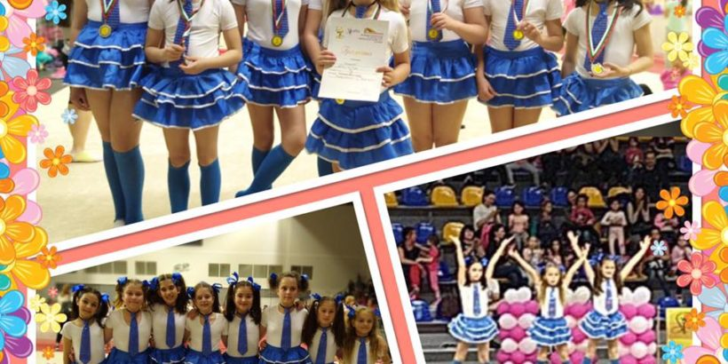 """Златни медали за момичетата от отбор """"Междучасие"""" от държавното в Шумен"""