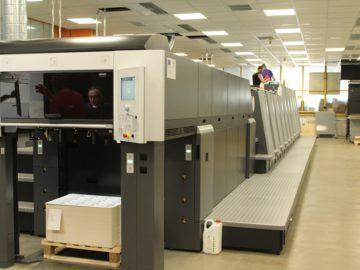 """Модерна печатарска машина спестява енергия и производствен ресурс на """"Дунав прес"""" АД"""