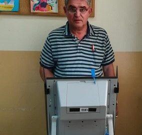 Божидар Йотов даде своя вот за единна Европа