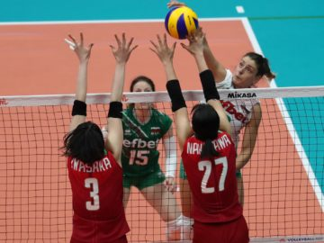 Българките изпуснаха 6-ите в света при дебюта си във Волейболната лига на нациите