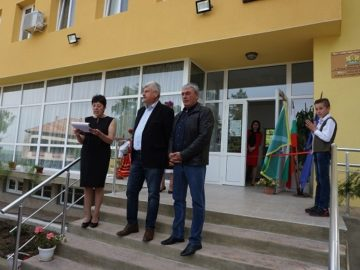 Кметът на Две могили откри обновения културен дом в Помен