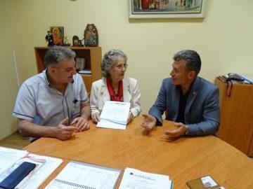 """Попечител на фондация """"Bulgarian aid"""" разгледа УМБАЛ """"Канев"""" днес"""