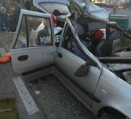 Четирима ранени, единият в много тежко състояние след удар на автомобил в ремарке в гюргевско село