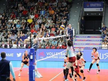 България на десето място след първия ден от женската Лига на нациите