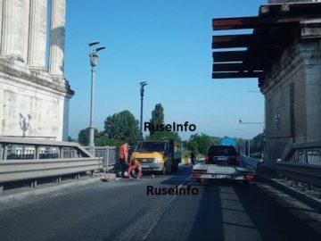 Ремонтите на Дунав мост 1 затрудняват движението на МПС