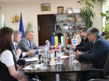 Областният управител Галин Григоров се срещна с посланика на Украйна у нас