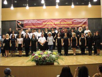 """Академичният хор """"Сексагинта Приста"""" участва в националния фестивал на религиозната хорова музика с международно участие """"Светлина от светлина"""" в Гюргево"""