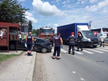 Българин пострада при катастрофа в Гюргево