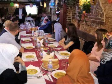 Русенското районно мюфтийство бе домакин на рамазанска вечеря ифтар