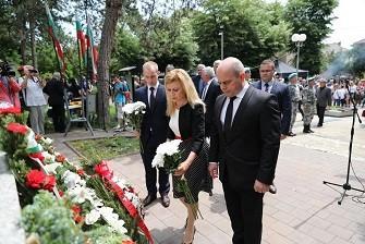 Русе почете паметта на Христо Ботев и загиналите за родината