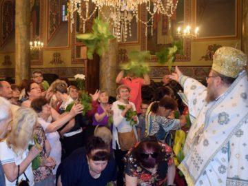 """Петдесетница - храмов празник на русенската катедрала """"Света Троица"""""""