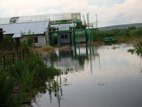 Река Студена преля, стотици декари в Караманово са под вода