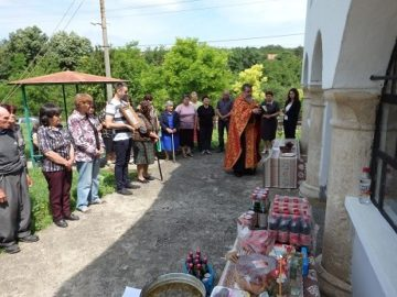В Пиперково и Караманово с курбан за здраве почетоха Възнесение Господне