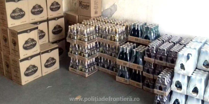Трима българи задържани при опит да пренесат неправомерно 2704 бутилки алкохол през Дунав мост 1