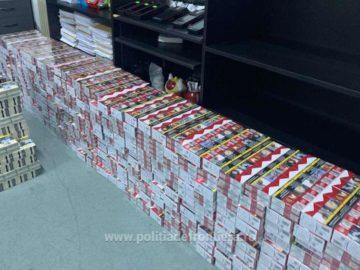 Над 4000 пакета контрабандни цигари задържаха на Дунав мост 1 в български автомобил