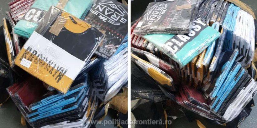 1113 фалшиви облекла и обувки откриха в камион и автобус на Дунав мост 1