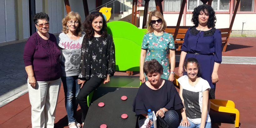 """Посещение в сливенска детска градина """"Надежда"""" и семинар за педагози проведоха експерти на БРТИМ"""