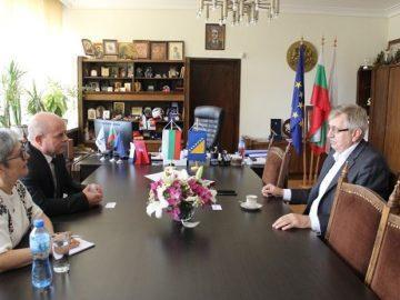Посланикът на Босна и Херцеговина у нас се срещна с кмета Пламен Стоилов