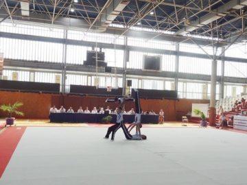 Държавният шампионат по акробатика бе открит днес в Русе