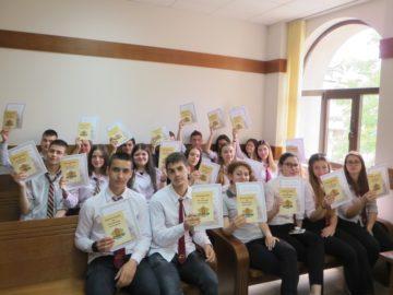 """Административен съд - Русе направи голямо дарение на ПГИУ и АГ """"Гео Милев"""""""