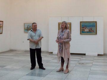 В Художествена галерия - Русе бе открита изложбата на Паруш Парушев