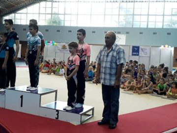 Русенските акробати трети на държавния индивидуален шампионат в София