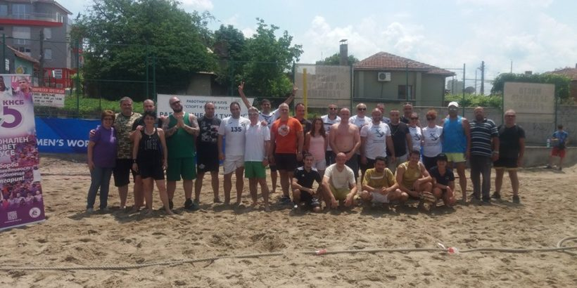 Турнир по плажен тенис и теглене на въже се състоя в Русе