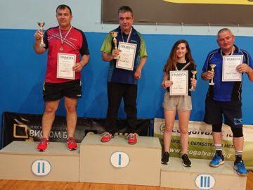 Алин Николае е шампион в международния открит турнир по тенис на маса