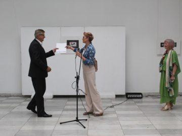 В Художествена галерия - Русе бе открита изложбата на Кристина Чавар
