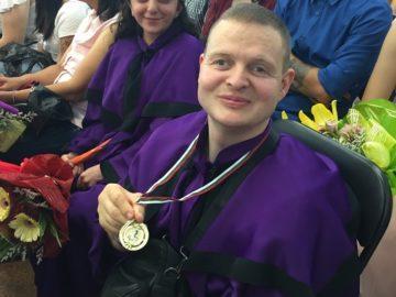 Христо Иванов от ПГО - Русе ще се бори за квота за параолимпийските игри в Токио