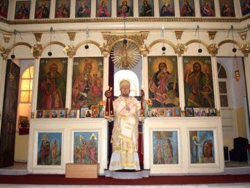 Русенският митрополит Наум отслужи света литургия в Писанец