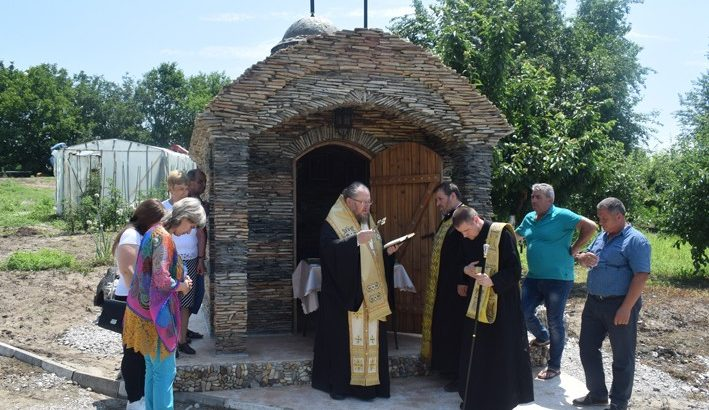 Русенският митрополит Наум отслужи литургия в Кривина и освети параклис в Беляново